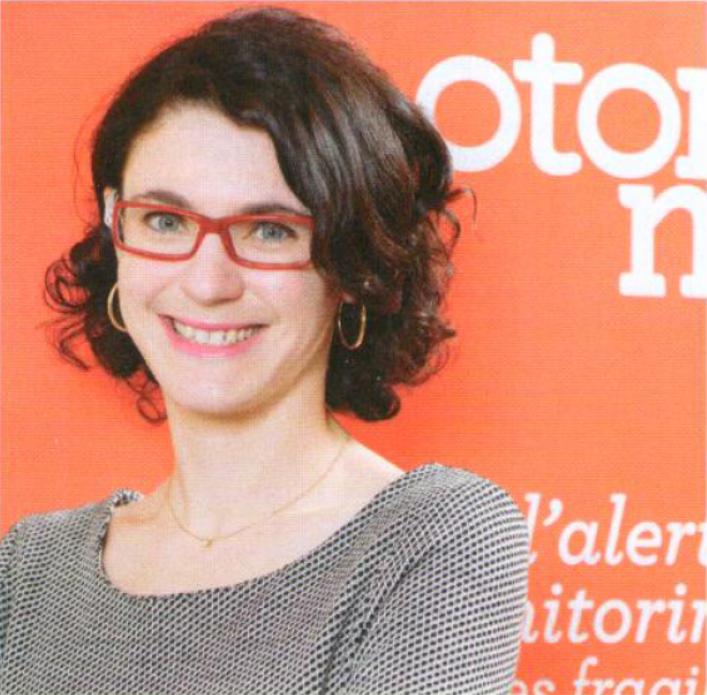 Carole Zisa-Garat, présidente Telegrafik