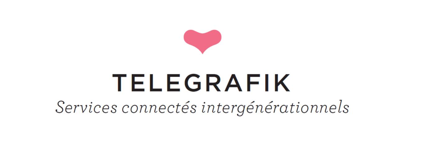 Logo Telegrafik sur la page mentions légales