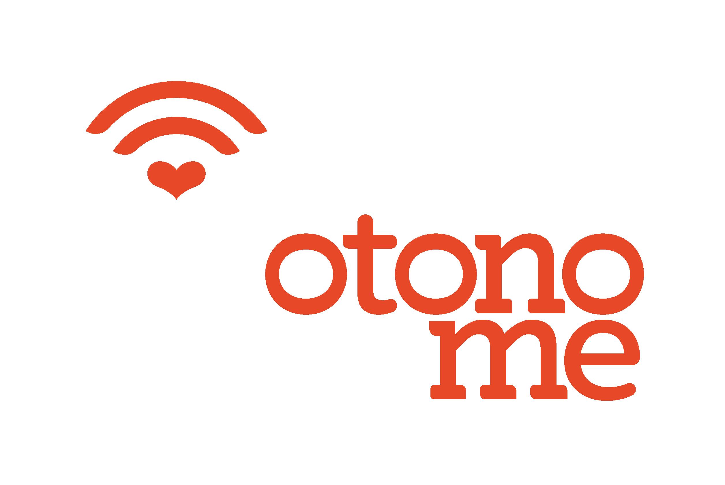 Logo complet OTONO-ME, le service de teleassistance innovante