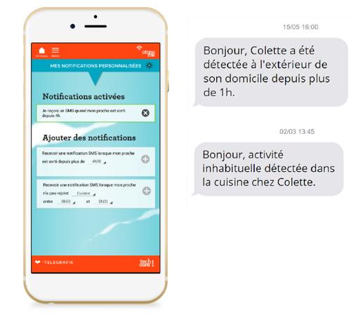 Application personnalisation de notifications SMS